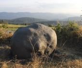 Model meteoritu Morávka