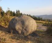 Galerie instalace modelu meteoritu Morávka