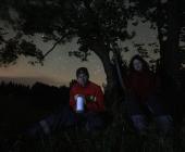 Noční odlov geocache - v BOTO máme 6 našich schránek se stejnojmeným názvem