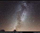 Mléčná dráha nad Gruněm