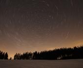 Startrails neboli pohyb hvězd po obloze
